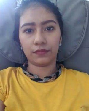 Nemenin bang @yuliusharyanto service sih black.. Aku relax theraphy duyuuu 👌👍😚.. Happy saturday girls 💐#ClozetteID #happiness #relax #relaxtime #qualitytime #relaxing #happysaturday #metime
