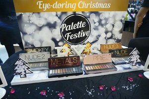 "Attending Event @byscosmetics_id "" Eye- Doring Christmas palette festive "" @centralparkmall Lower Ground ( LG ). #BYSatcentralpark  #Clozetteid"
