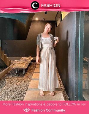 Another beige and warm toned outfit you need to try, inspired by Clozette Ambassador @cellinikamil. Simak Fashion Update ala clozetters lainnya hari ini di Fashion Community. Yuk, share outfit favorit kamu bersama Clozette.