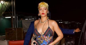 While others are busy reviving 70s and 80s looks, Rihanna is casually bringing back all our favourite 90s trends