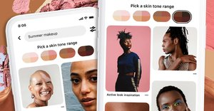 Finding beauty inspo that suits *your* complexion just got a lot easier thanks to this genius Pinterest tool