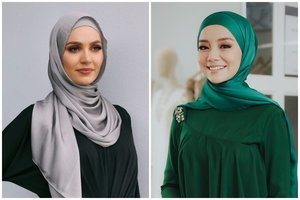 7 Ide Styling Hijab Satin Untuk Wisuda Dan Kondangan
