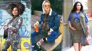 Pregnant Street Style Outfits So Chic You'll Want to Recreate Them Even If You're Not Expecting