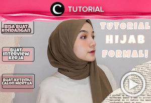 Butuh inspirasi hijab untuk acara formal? Coba intip di: http://bit.ly/3aInCW3. Video ini di-share kembali oleh Clozetter @shafirasyahnaz. Lihat juga tutorial lainnya di Tutorial Section.