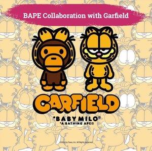Kali ini Bape berkolaborasi dengan kucing paling popular di dunia, Garfield. Koleksinya meliputi tees, hoodies, cap dan tote bag, cocok untuk daily activitiy nih, Clozetters. Tees dalam ukuran anak-anak juga akan tersedia, lho. Kolaborasi Garfield dengan BAPE akan tersedia pada hari Sabtu, 4 Juli 2020. So, Stay tune!   📷 @bape_japan  #ClozetteID #ClozetteIDCoolJapan #ClozetteXCoolJapan #bape #garfield