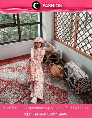 Weekend mood: plaid from head to toe. Image shared by Clozette Ambassador @vicisienna. Simak Fashion Update ala clozetters lainnya hari ini di Fashion Community. Yuk, share outfit favorit kamu bersama Clozette.
