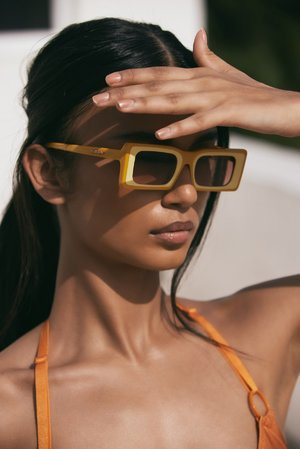 13 Rectangle-Frame Sunglasses To Wear All Summer Long