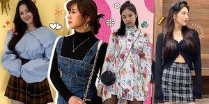 10 Inspirasi Gaya High Teen Fashion yang Trending di Korea