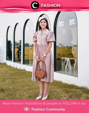 Vintage look head-to-toe by Clozette Ambassador @diarykania. Simak Fashion Update ala clozetters lainnya hari ini di Fashion Community. Yuk, share outfit favorit kamu bersama Clozette.