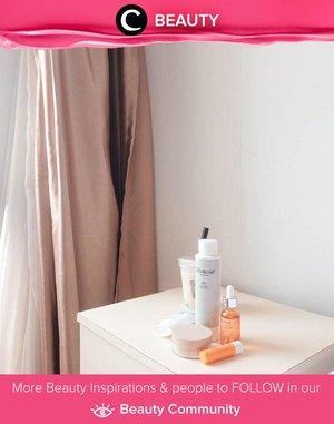 Minimal skincare versi Clozetter @arumdwns. Simak Beauty Update ala clozetters lainnya hari ini di Beauty Community. Yuk, share juga beauty product favoritmu bersama Clozette.