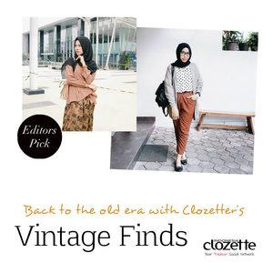 Cek gaya vintage terbaik pilihan Clozette Crew yuk di sini http://bit.ly/1IF7df0