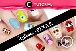 Super menggemaskan ya, nail art Disney Pixar ini! Intip tutorialnya di: https://bit.ly/3hZ0yCd. Video ini di-share kembali oleh Clozetter @aquagurl. Lihat juga tutorial lainnya di Tutorial Section.