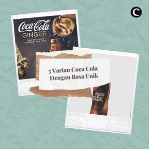Siapa di sini yang setiap mendengar frasa minuman bersoda, pasti Coca-Cola adalah hal pertama yang muncul dalam pikiran?🙋🏻♀️.Tak hanya seperti yang biasa kita rasakan, brand minuman bersoda legendaris ini ternyata memiliki banyak rasa, lho, Clozetters! Yuk tonton video berikut untuk tahu 5 varian rasa unik dari Coca-Cola🍷.#ClozetteID #ClozetteIDVideo #ClozetteIDCoolJapan #ClozetteXCoolJapan