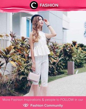 Star Clozetter @amandatorquise in all white. Simak Fashion Update ala clozetters lainnya hari ini di Fashion Community. Yuk, share outfit favorit kamu bersama Clozette.