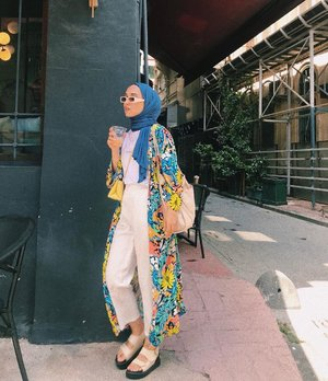How To Style Blue For Hijab Outfit - Hijab-style.com