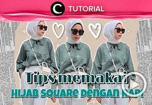 Hijab yang tegak dan rapi bisa menjadikan look lebih paripurna, lho. Intip tipsnya di: https://bit.ly/3Cgmp2r. Video ini di-share kembali oleh Clozetter @saniaalatas. Lihat juga tutorial lainnya di Tutorial Section.