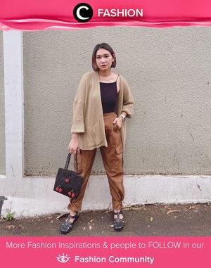 Earthy toned kinda outfit, shared by Clozette Ambassador @cellinikamil. Simak Fashion Update ala clozetters lainnya hari ini di Fashion Community. Yuk, share outfit favorit kamu bersama Clozette.