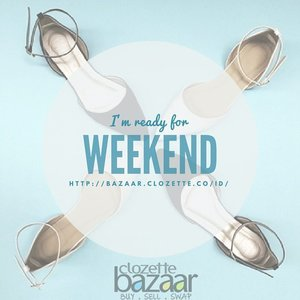 Nice shoes on weekend IS A MUST! Buy at #ClozetteBazaar --> bit.ly/bazaarshoes  #ClozetteID #ClozetteBazaar #shoes #shoeaddict #instafashion #onlineshopping