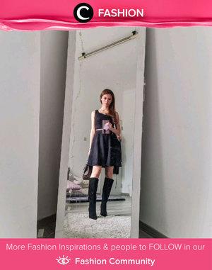 Clozette Ambassador @silviamuryadi looks uber stylish in all black. Simak Fashion Update ala clozetters lainnya hari ini di Fashion Community. Yuk, share outfit favorit kamu bersama Clozette.