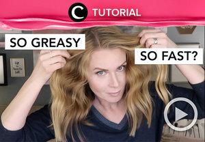 Yang rambutnya cepat lepek, coba intip video yang di-share Clozetter @kamiliasari ini: https://bit.ly/3aSGVen. Lihat juga tutorial lainya di Tutorial Section, ya.