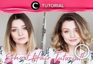 Make your short hair even more chic with this tutorial : http://bit.ly/2F8bwXU . Video ini di-share kembali oleh Clozetter @Kyriaa. Cek Tutorial Updates lainnya pada Tutorial Section.