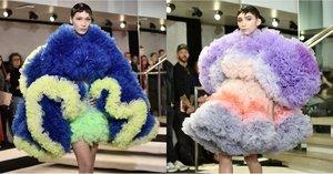 Tomo Koizumi's New York Fashion Week Debut Is Sending Stylish Frill-Seekers Into a Frenzy
