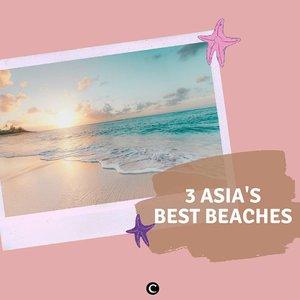 Siapa yang rindu berlibur di pantai? Ketika virus corona sudah berakhir dan segalanya kembali pulih nanti, jangan lupa masukan 3 pantai terbaik di Asia ini ke dalam list destinasi liburanmu, ya! Ada Pink Beack di Pulau Komodo, Miyako Island di Jepang, dan Similan Island di Thailad. Ketiga pantai tersebut terkenal dengan airnya yang jernih dan lingkungannya yang masih terhitung jarang didatangi wisatawan, lho! Duh, jadi nggak sabar ya! But in the meantime, #stayathome ya✨#ClozetteID #ClozetteIDCoolJapan #ClozetteXCoolJapan