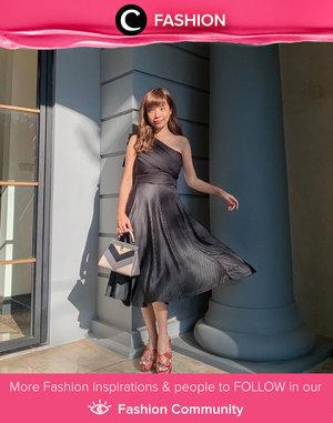Clozette Ambassador @steviiewong shared her glam outfit, made us forget that it's Monday already! Simak Fashion Update ala clozetters lainnya hari ini di Fashion Community. Yuk, share outfit favorit kamu bersama Clozette.
