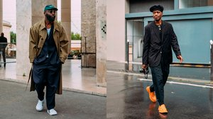 From Berets to Baseball Hats: French and American Street Style Trends at the Paris Men's Shows