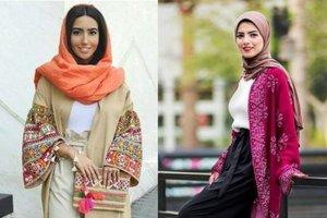 8 Padu Padan Hijab Dan Kimono Gaya Etnik Untuk Lebaran Yang Santai Tapi Modis