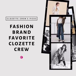 Nggak hanya produk-produk dari dunia kecantikan, Clozette Crew juga punya brand favorite dari dunia fashion, lho! Cek video berikut untuk cari tau, apa aja sih brand fashion favorit Clozette Crew?🤔 kalau kamu, apa fashion brand favoritmu, Clozetters? #ClozetteID #ClozetteIDVideo #ClozetteIDCoolJapan #ClozetteXCoolJapan