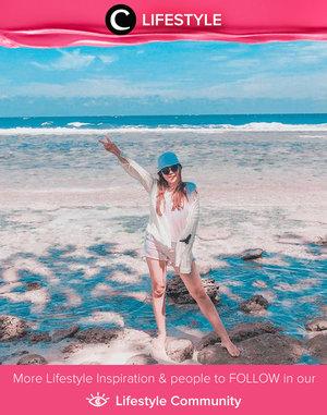 Throwback to a happy day on the beach, posted by Clozetter @anggelinpm. Simak Lifestyle Update ala clozetters lainnya hari ini di Lifestyle Community. Yuk, share momen favoritmu bersama Clozette.