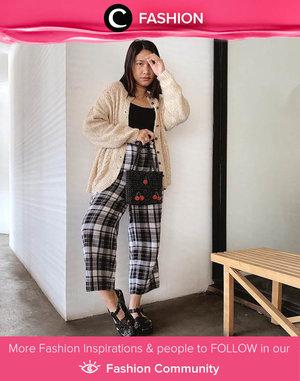 Clozette Ambassador @cellinikamil mixing her old and new pieces for a whole new look. Simak Fashion Update ala clozetters lainnya hari ini di Fashion Community. Yuk, share outfit favorit kamu bersama Clozette.