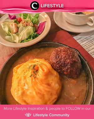 This hamburg steak with curry salad seem so delicious! Image shared by Clozette Ambassador @theresiajuanita. Simak Lifestyle Update ala clozetters lainnya hari ini di Lifestyle Community. Yuk, share momen favoritmu bersama Clozette.