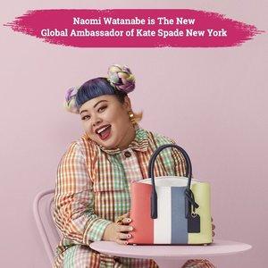 """""""The Japanese Beyonce"""" aka Naomi Watanabe ditunjuk sebagai Global Ambassador Kate Spade terbaru di tahun 2020. Hal ini sebagai selebrasi Kate Spade untuk keberagaman semua perempuan, sifat dan kepercayaan dini Naomi dipercaya dapat mendorong banyak perempuan untuk mengekspresikan kepribadian mereka yang menyenangkan..📷 watanabenaomi703 katespadeny #ClozetteID #ClozetteXCoolJapan #ClozetteIDCoolJapan"""