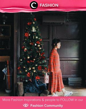 It's Christmas eve! Clozette Ambassador @Bebelicios keep her style on point for this Christmas vibes.  Simak Fashion Update ala clozetters lainnya hari ini di Fashion Community. Yuk, share outfit favorit kamu bersama Clozette.