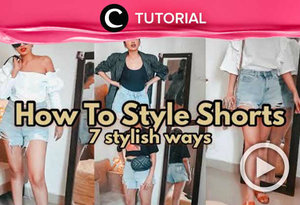 Stay comfortable and stylish this weekend. Check the styling tips here: http://bit.ly/329fSpd. Video ini di-share kembali oleh Clozetter @shafirasyahnaz. Lihat juga tutorial lainnya di Tutorial Section.