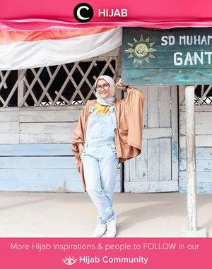 Casual and colorful style ala Clozetter @Ellynurul. Simak inspirasi gaya Hijab dari para Clozetters hari ini di Hijab Community. Yuk, share juga gaya hijab andalan kamu.