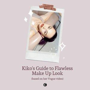 Kiko Mizuhara, aktris dan model asal Jepang ini dikenal dengan make up look-nya yang sudah menjadi ciri khas yang menempel pada perempuan berdarah Amerika-Korea ini, yaitu soft classic glam make up look. Beberapa waktu lalu, Kiko membagikan step by step make up routine-nya melalui YouTube Vogue Magazine, berikut Clozette rangkum produk-produk apa saja yang digunakan Kiko untuk menghasilkan make up-nya yang flawless! #ClozetteID #ClozetteIDCoolJapan #ClozetteXCoolJapan