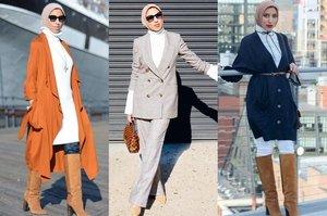 Inspirasi Mix and Match Busana Hijab Simpel ala Fashion Blogger Amerika, Cocok untuk yang Baru Berhijab! - Stylo.ID