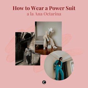 Akhir-akhir ini mengenakan suit kembali menjadi trend yang disukai banyak orang, terutama fashion enthusiast. Tampilannya yang tegas dengan potongan well-tailored membuat siapa saja akan terlihat fierce dan powerful saat mengenakannya. Kalau kamu masih bingung bagaimana cara memadupadankan power suit, yuk intip power suit ideas ada fashion influencer @anaoctarina melalui video berikut ini!✨  📷 @anaoctarina  #ClozetteID #ClozetteIDVideo #powersuit #fashion