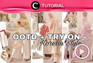 Korean style for Hijab OOTD: https://bit.ly/32gdQFC. Video ini di-share kembali oleh Clozetter @saniaalatas. Lihat juga tutorial lainnya di Tutorial Section.