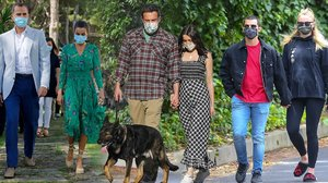 Are Matching Face Masks Summer's Biggest Celebrity Couples Trend?