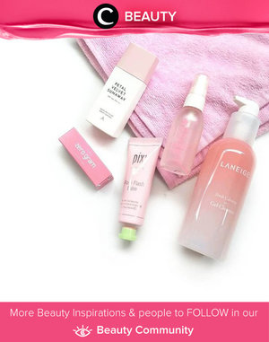 #PinkWednesday with pink beauty products from Laneige, Althea, Pixi, Keep Cool & Romand! Simak Beauty Update ala clozetters lainnya hari ini di Beauty Community. Image shared by Clozetter @Indirawulandari. Yuk, share juga beauty product favorit kamu bersama Clozette.
