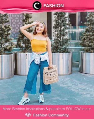 Clozetter @lidyaagustin01's summer essentials: bright tank top and jeans. Simak Fashion Update ala clozetters lainnya hari ini di Fashion Community. Yuk, share outfit favorit kamu bersama Clozette.