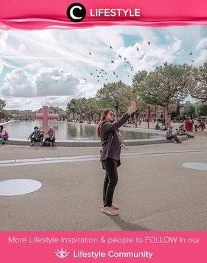 Clozetter @beibytalks shared her throwback photo when she was in Amsterdam. Simak Lifestyle Update ala clozetters lainnya hari ini di Lifestyle Community. Yuk, share momen favoritmu bersama Clozette.