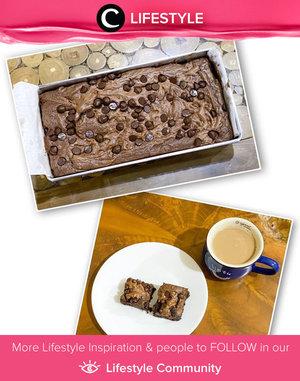 Brownies and coffee for evening snack, anyone can resist? Image shared by Clozetter @Irenafaisal. Simak Lifestyle Update ala clozetters lainnya hari ini di Lifestyle Community. Yuk, share momen favoritmu bersama Clozette.