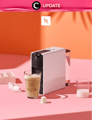 A Special Offer from Nespresso exclusively for all our coffee-lovers Clozetters! Purchase your very own Nespresso coffee machine to enjoy the super special deal. Make your life easier, and bring café to your home with Nespresso! Lihat info lengkapnya pada bagian Premium Section aplikasi Clozette. Bagi yang belum memiliki Clozette App, kamu bisa download di sini https://go.onelink.me/app/clozetteupdates. Jangan lewatkan info seputar acara dan promo dari brand/store lainnya di Updates section.