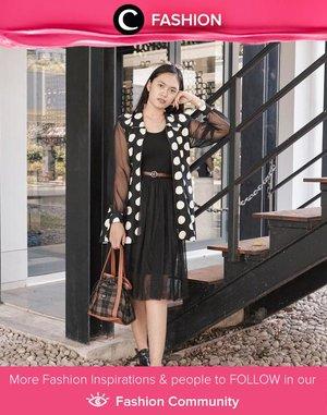 Who loves polkadot as much as Clozetter @deniathly? Simak Fashion Update ala clozetters lainnya hari ini di Fashion Community. Yuk, share outfit favorit kamu bersama Clozette.
