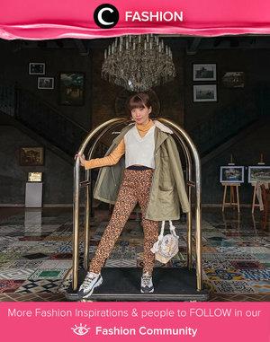 Clozette Ambassador @steviiewong styled her animal print pants for a windy day in Bromo. Simak Fashion Update ala clozetters lainnya hari ini di Fashion Community. Yuk, share outfit favorit kamu bersama Clozette.